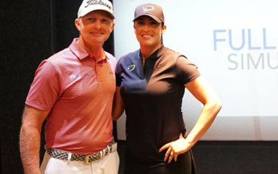 Golf Digest Covers Ground Breaking Full Swing Golf Simulator and Virtual Green Installation at Lucy Davies Golf Academy