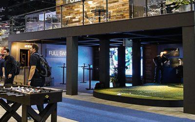 PGA Merchandise Show: the Full Swing Golf Simulator