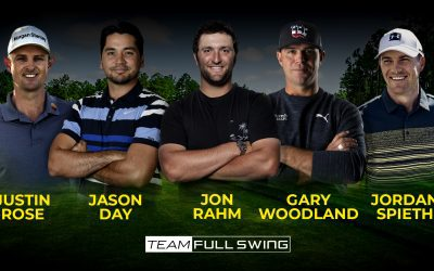Team Full Swing Prepares for The Masters 2021